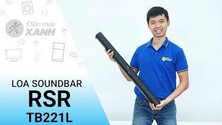 Loa Soundbar RSR TB221L: Âm thanh đỉnh cao giá rẻ • Điện máy XANH