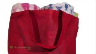 North Shore Non-Woven Expandable Beach Tote Thumbnail