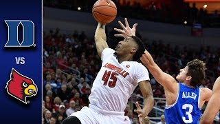 Duke vs. Louisville Men's Basketball Highlights (2016-17)