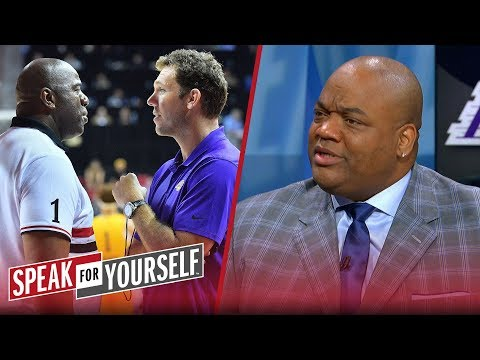 Jason Whitlock responds to reports of Magic Johnson confronting Walton | NBA | SPEAK FOR YOURSELF