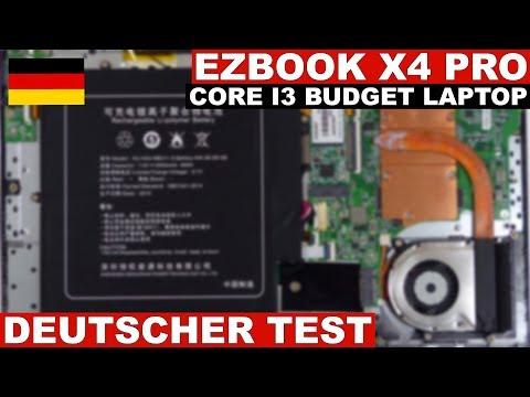 Jumper EZBook X4 Pro Test (Deutsch)