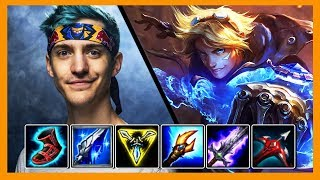Ninja Plays League of Legends