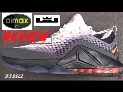 more photos b8f7d 61597 Nike Air Max 95 Lebron 12 Low Hybrid Shoe Review