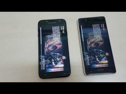So sánh tốc độ Nokia 5 và Samsung Galaxy J7 Pro