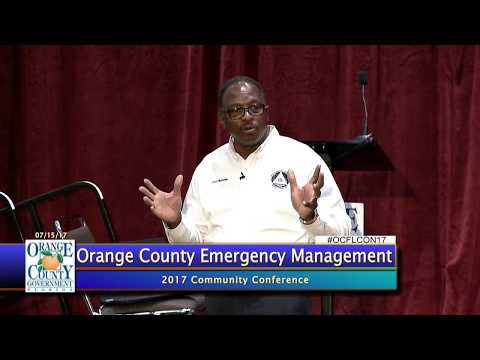 2017 Community Conference Session B | Orange County Emergency Management