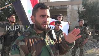 Syria: Syrian Arab Army advances in Idlib countryside