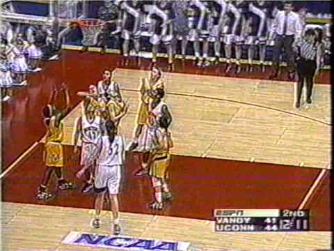 1996 Elite Eight Vanderbilt vs  Connecticut