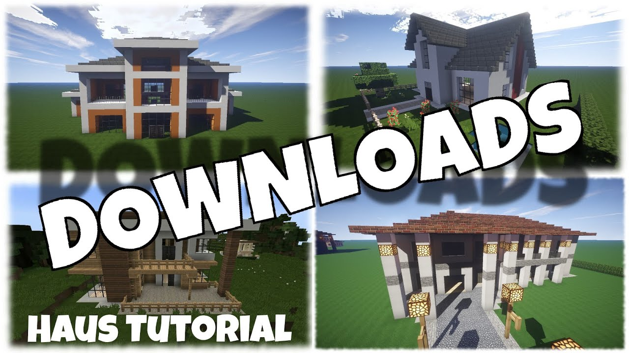 Minecraft haus downloads von jannis gerzen youtube for Minecraft modernes haus jannis gerzen