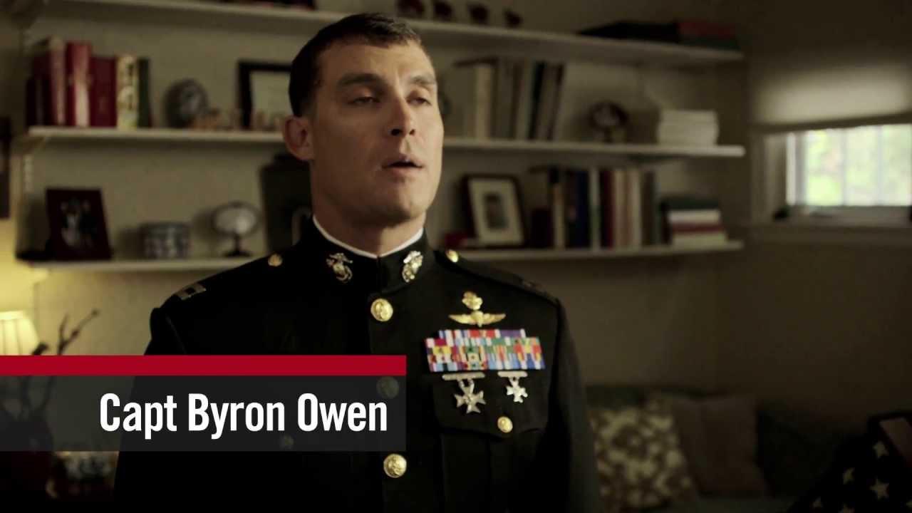 Warrior of Virtue: Capt Byron Owen on Pride - YouTube