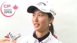 Xi Yu Lin - Rd. 2 Interview - 2015 Canadian Pacific Women's Open