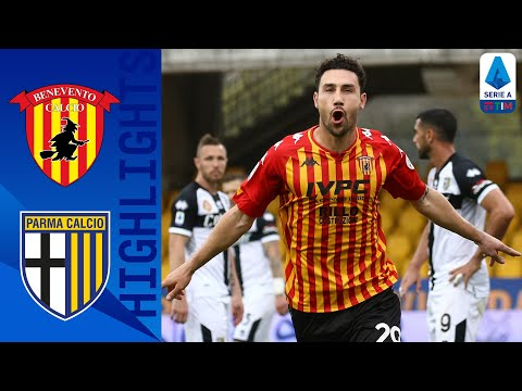Benevento Parma Goals And Highlights