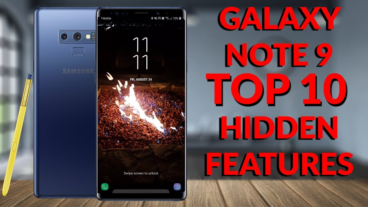 Samsung Galaxy Note 9 Top 10 Hidden Features (20 Tips & Tricks Part 1) - YouTube Tech Guy
