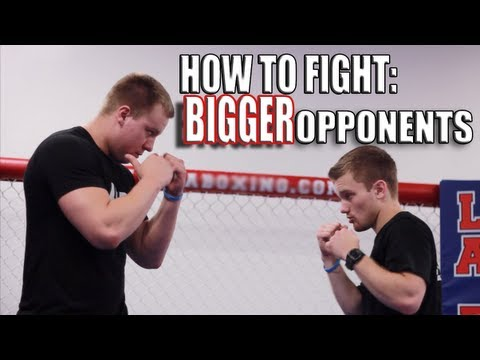 How to Fight Someone Bigger Than You - Overhand Right Punch