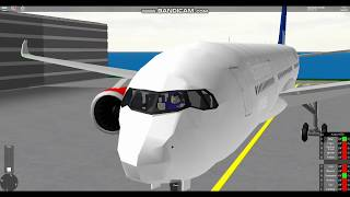 [ROBLOX] Scandinavian Airlines A350 (SFS Flight Simulator)