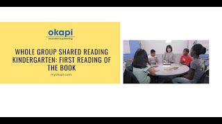 Shared Reading: The First Read, Kindergarten