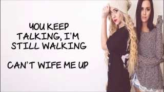 Megan & Liz - Wife Me Up (W/ Lyrics)