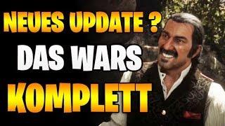 DAS WARS KOMPLETT - Neues Update & Zukunft | Red Dead Redemption 2 Online News