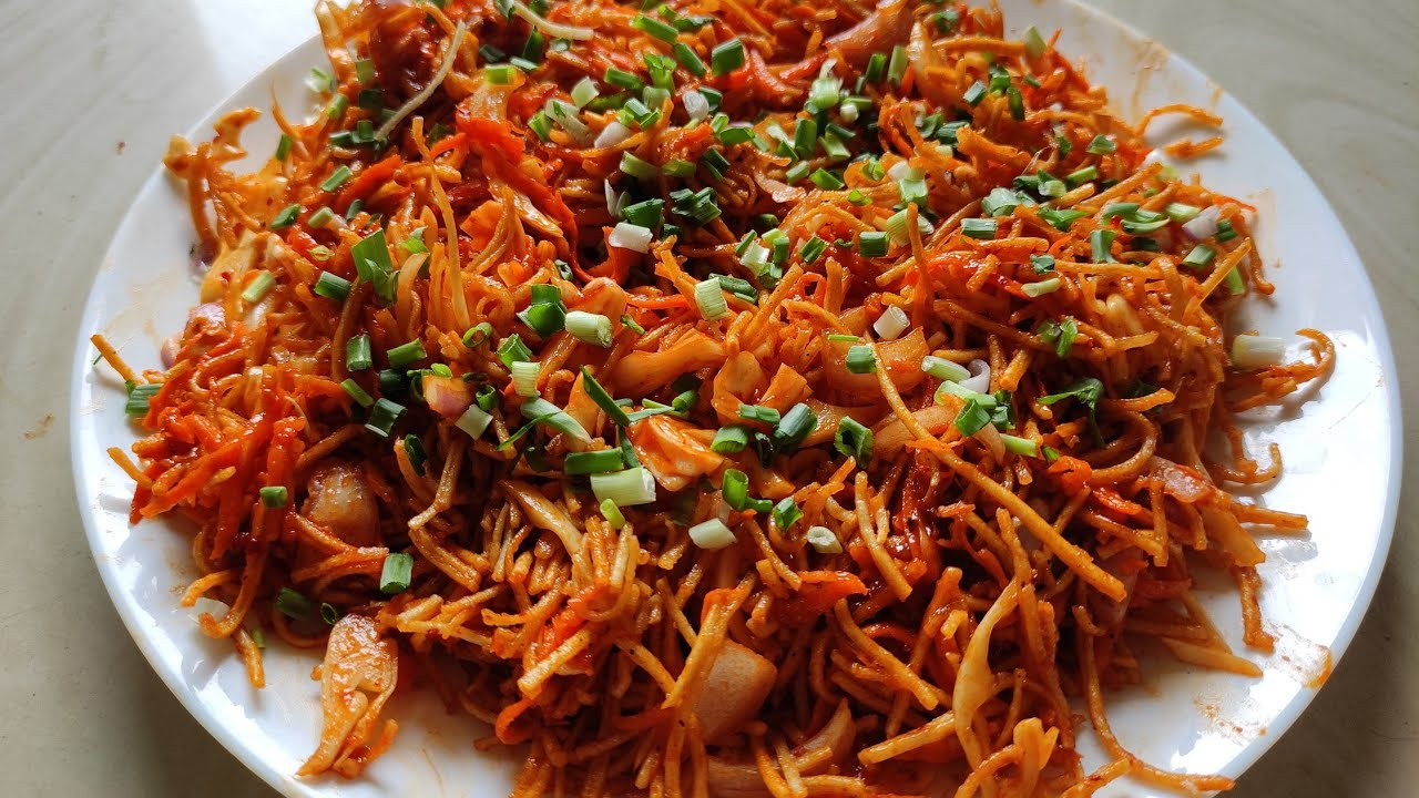 Chinese Bhel Recipe | How to make Chinese Bhel Recipe At Home | DHRUV BHATE |
