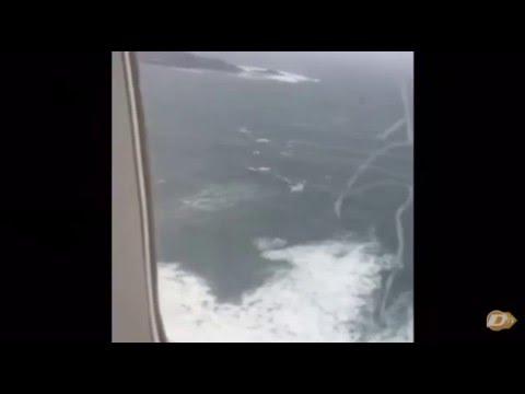 Avión del Málaga CF casi se estrella en el mar con todos los jugadores