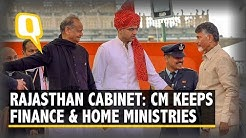 Rajasthan Cabinet: CM Gehlot Keeps Finance and Home Ministry | The Quint