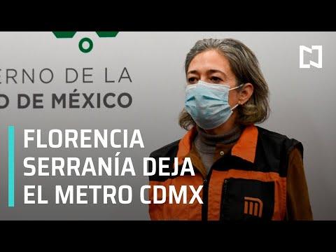 Florencia Serranía deja dirección del Metro CDMX, la sustituye Guillermo Calderón - Por las Mañanas