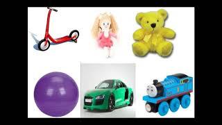 Детская песня на английском   учим цвета и названия игрушек   развивающий мультфильм