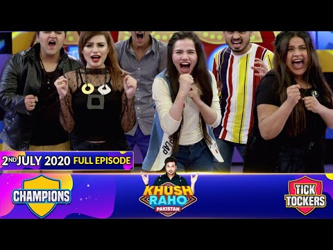 Download Game Show   Khush Raho Pakistan Champions Vs Tick Tockers   Faysal Quraishi   2nd July 2020
