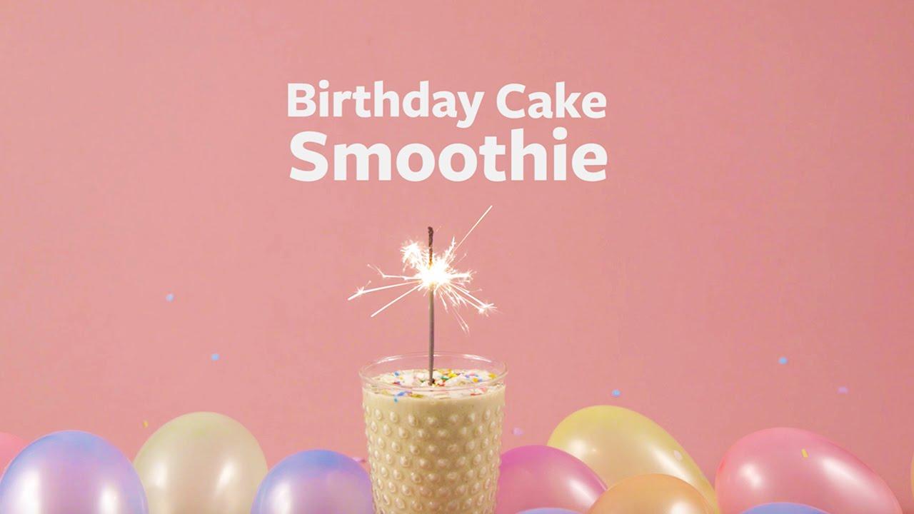 Vega Kitchen Birthday Cake Smoothie