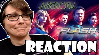ARROW - THE FLASH - CRISIS ON INFINITE EARTHS - Comic-Con Trailer Reactions/Discussion!