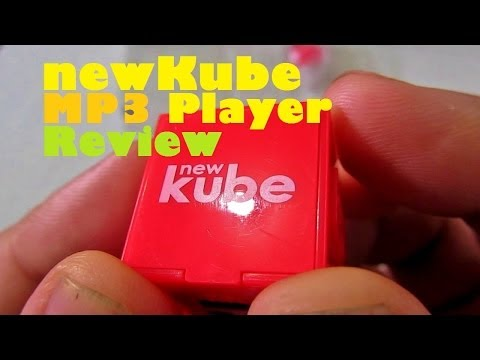 newKube MP3 Player Review - Small & Lightweight Music Player With 6 Hour Battery For PHP 1,599