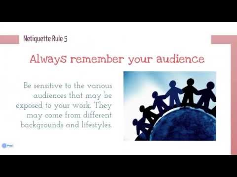 Student Resources: A Guide to Netiquette in Online Learning
