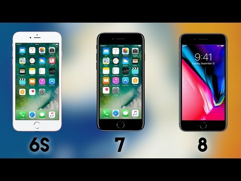 iPhone 6s, 7, and 8 / Not much changed right?
