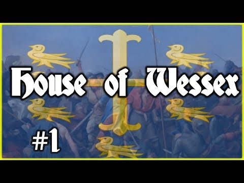 Crusader Kings 2 1066 - Will House Wessex Survive - Ep1