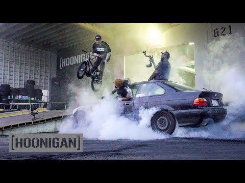 [HOONIGAN] Daily Transmission 010: Burnouts and BMX Jam. EXTREME!