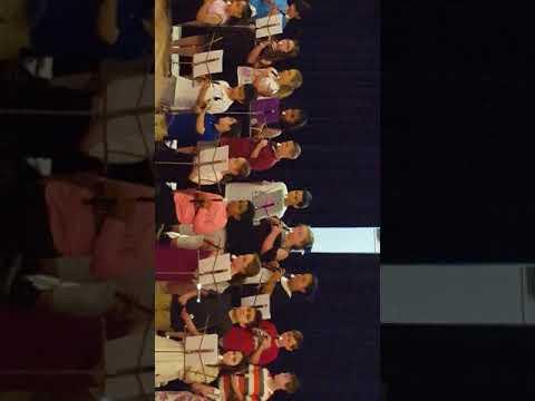 John Wickes elementary school recorder concert 2018