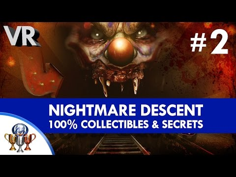 Until Dawn Rush Of Blood 100% Psychotic - Collectibles (All Skittles & Secrets) - Nightmare Descent