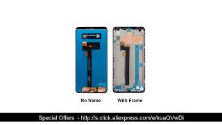 ⭐️ For Xiaomi Mi Max 3 LCD Display Touch Screen Digitizer Assembly Repair Parts for Xiaomi Mi Max3