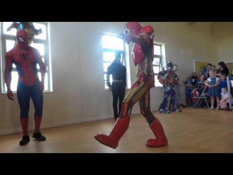 Superhero dance Milton Keynes