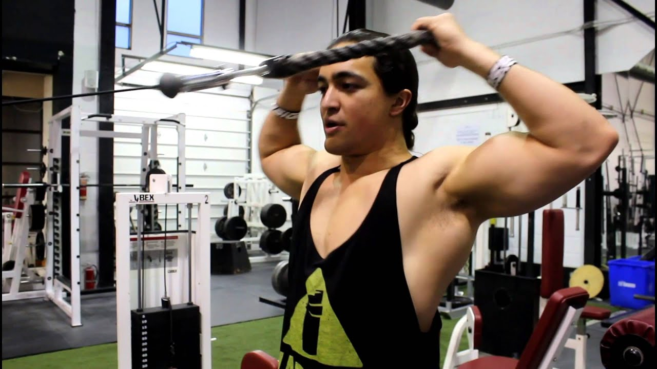My FAVOURITE SHOULDER PREHAB Exercise: The Face Pull - YouTube