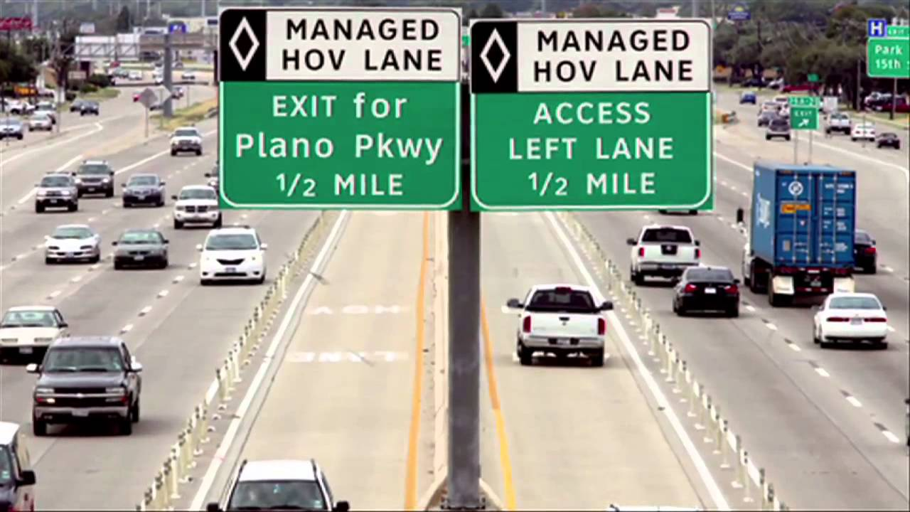 What Is Hov Lane >> Carpool Lane Rules Youtube
