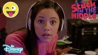 Stuck in the Middle | Harley's Basketball Broadcast 🎙🏀Sneak Peek | Official Disney Channel UK