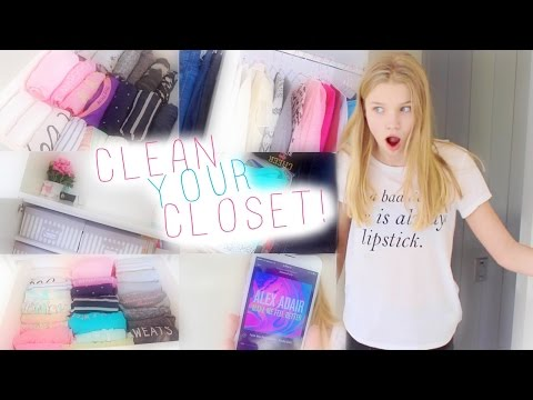 Cleaning My Closet + Organization Tips!