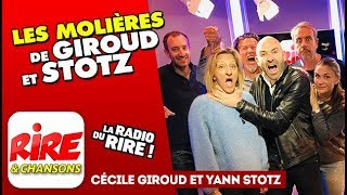 Les Molières de Giroud et Stotz - le top de l'actu sur Rire & Chansons