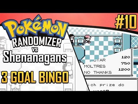 Pokemon Randomizer 3 Goal Bingo vs Shenanagans #10