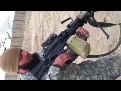 Special forces oda 3rd group Afghanistan target practice