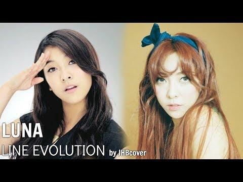 f(x) - LUNA (LINE EVOLUTION) 2009-2015
