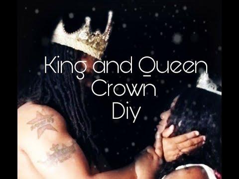 DIY King & Queen Crowns
