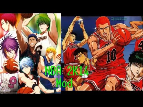 Kuroko V Slam Dunk NBA 2K14 Mod Tutorial - How To Install