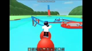 SHES Ein HACKER?!?! Roblox: Wipeout Obby W/ TOTALLY AWESOME