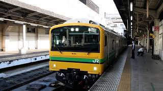 【蔵出し】クモヤE493系返却回送 上野発車